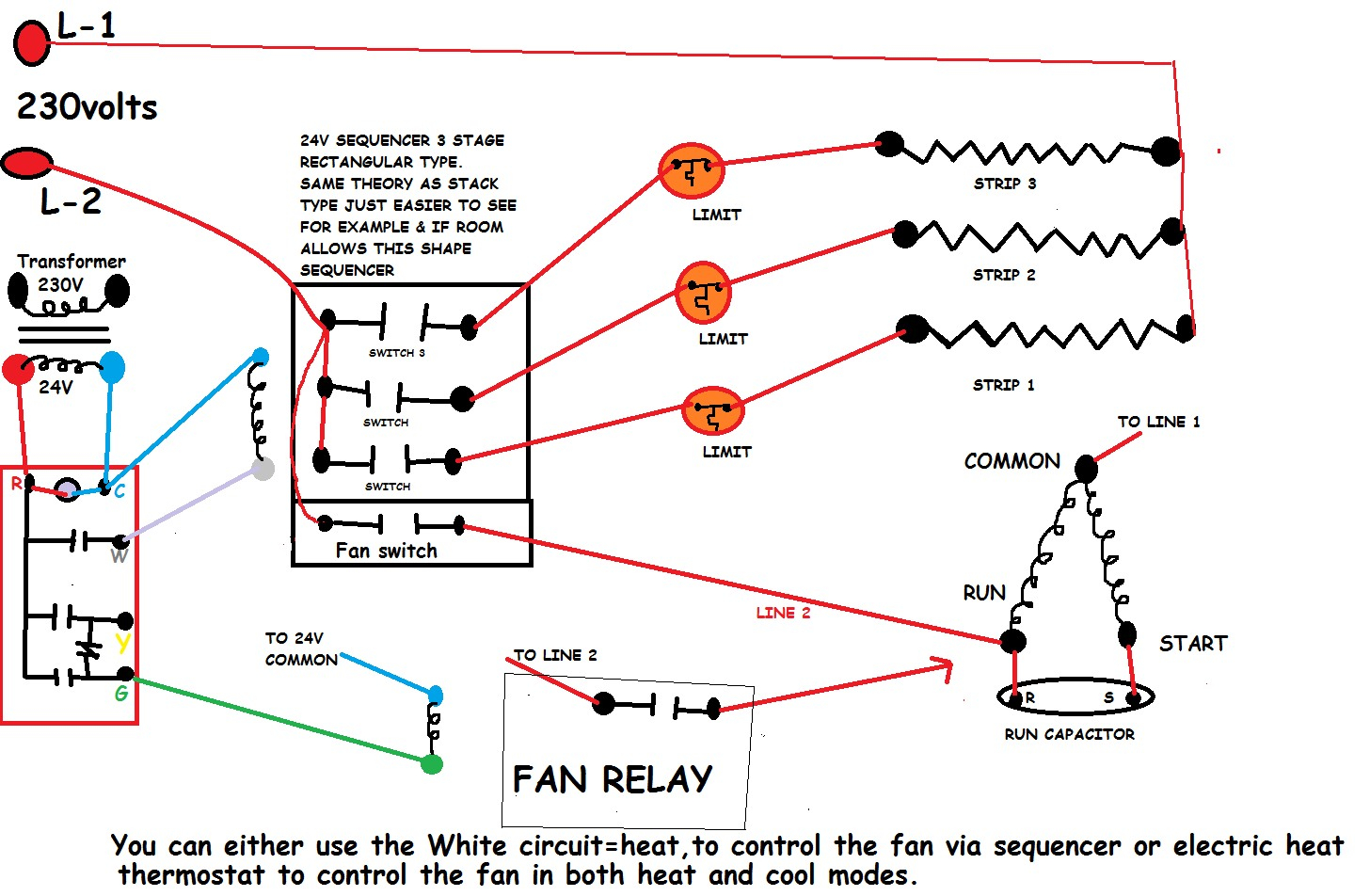 Furnace Blower Fan Relay Wiring - Get Wiring Diagram on