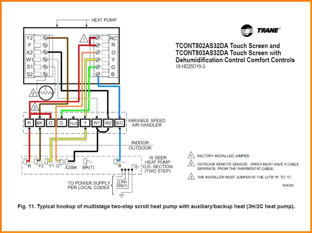 gas furnace thermostat wiring diagram Download-Goodman Heat Pump Wiring Diagram Lovely Furnace thermostat Wire Colors Wiring Diagram Database 5-q