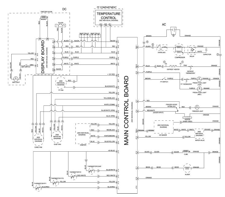 Ge Refrigerator Wiring Diagram Sample | Wiring Diagram Sample on