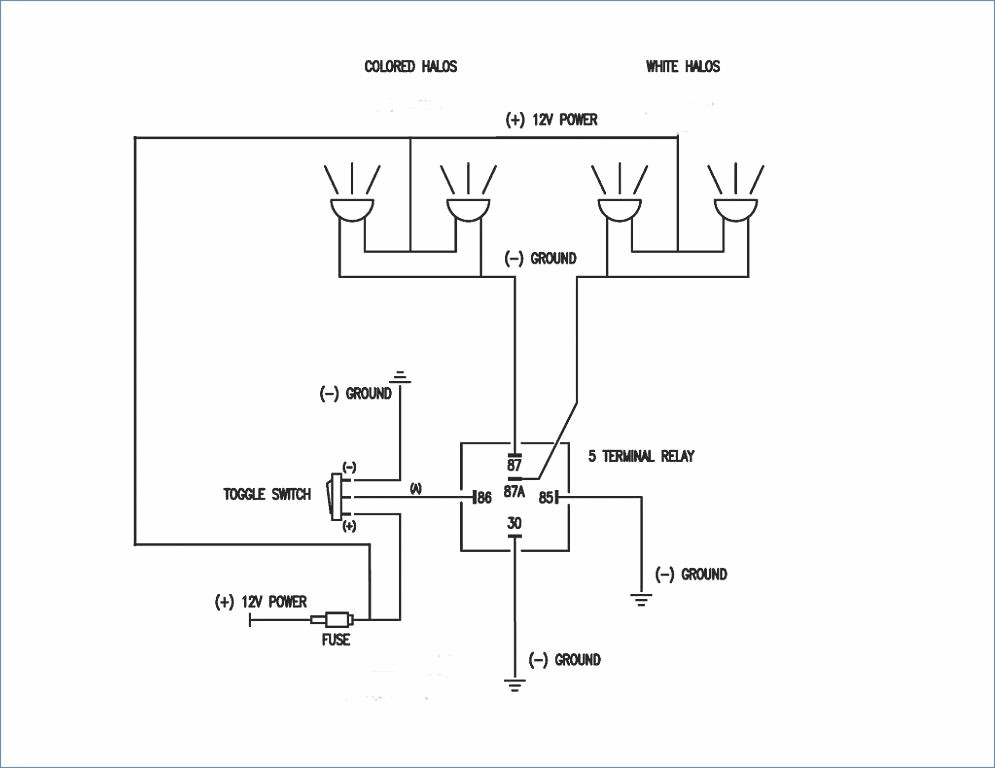 ge rr8 relay wiring diagram Collection-Relay 5 Pin Wiring Diagram Relay Diagram Ge Rr8 Relay 5-k