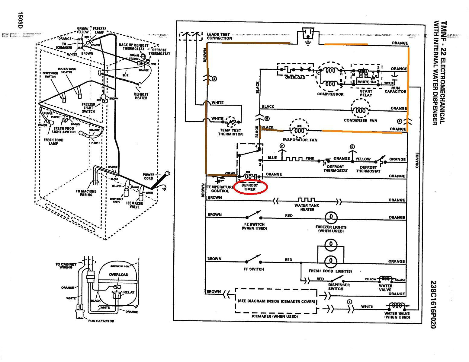 Ge Profile Refrigerator Wiring Schematic - Wiring Diagrams Show on