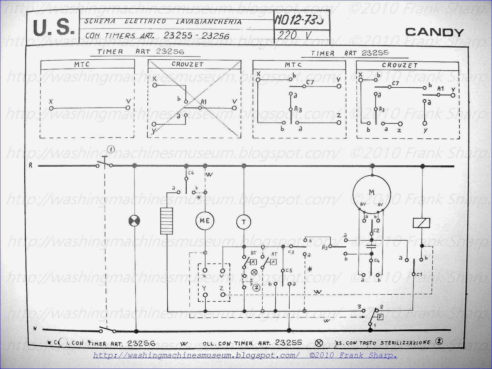 ge washer wiring diagram Collection-CANDY WASHING MACHINE WITH TIMER SCHEMATIC DIAGRAM 3-l
