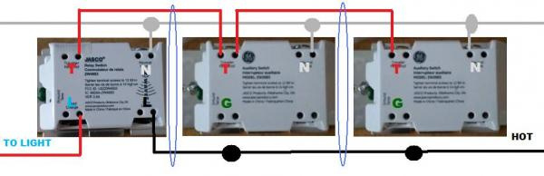ge z wave 4 way switch wiring diagram Download-Problem wiring GE with two add ons 9-b