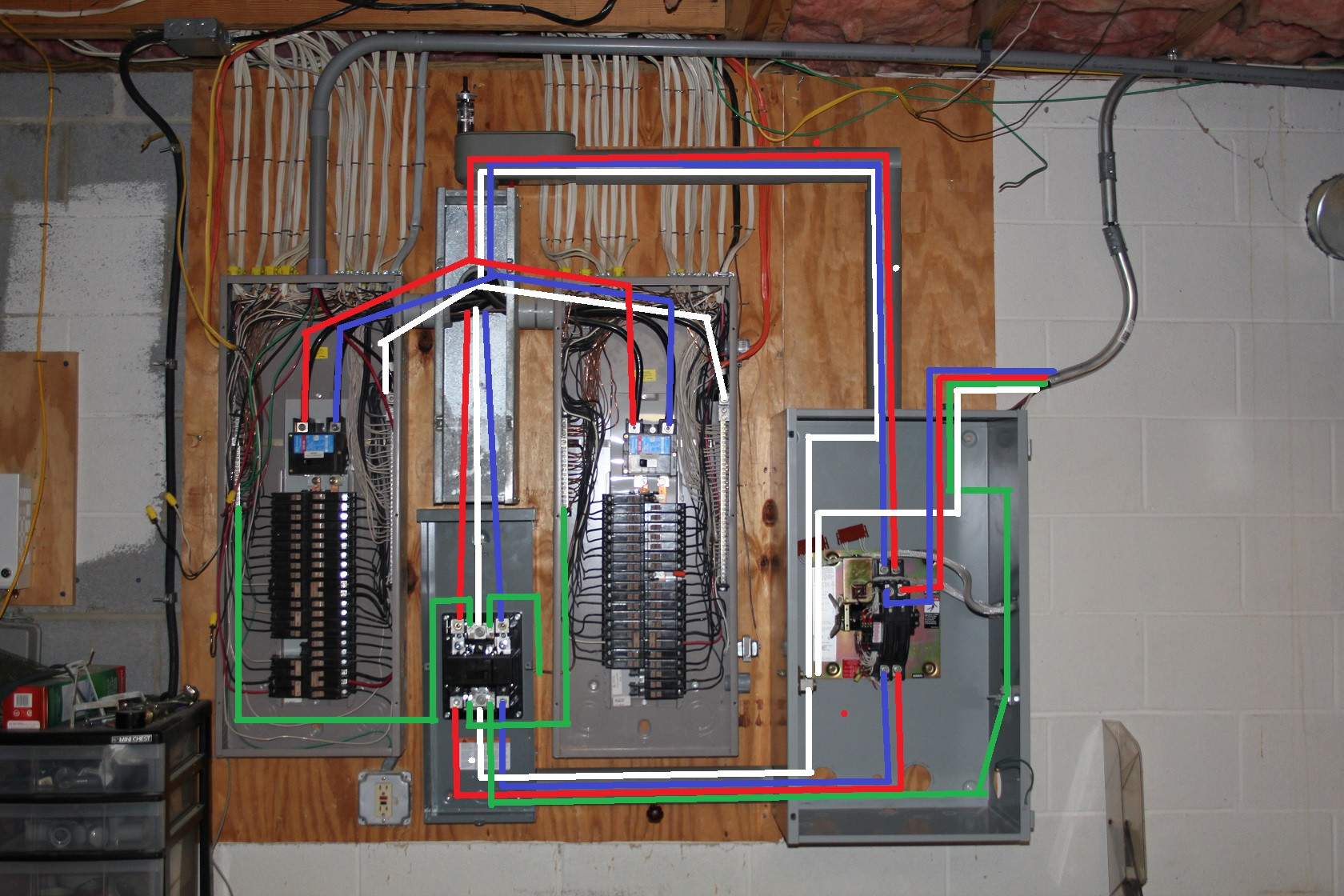 Generac 400 Amp Transfer Switch Wiring Diagram Download Here Is A Conceptual Of An Interlocked Switches Collection Generator 7