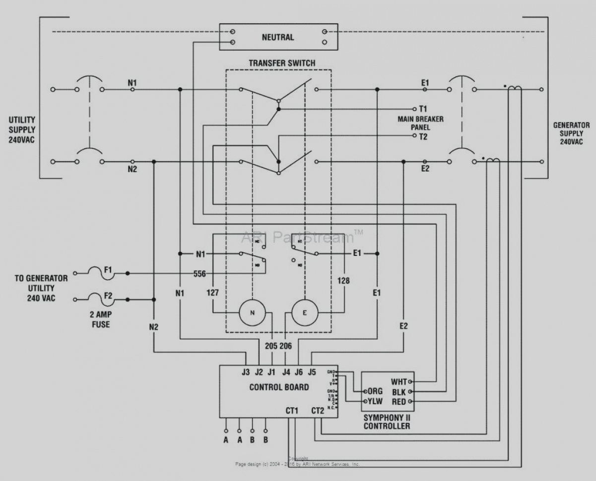 Furnace Transfer Switch Wiring Diagram