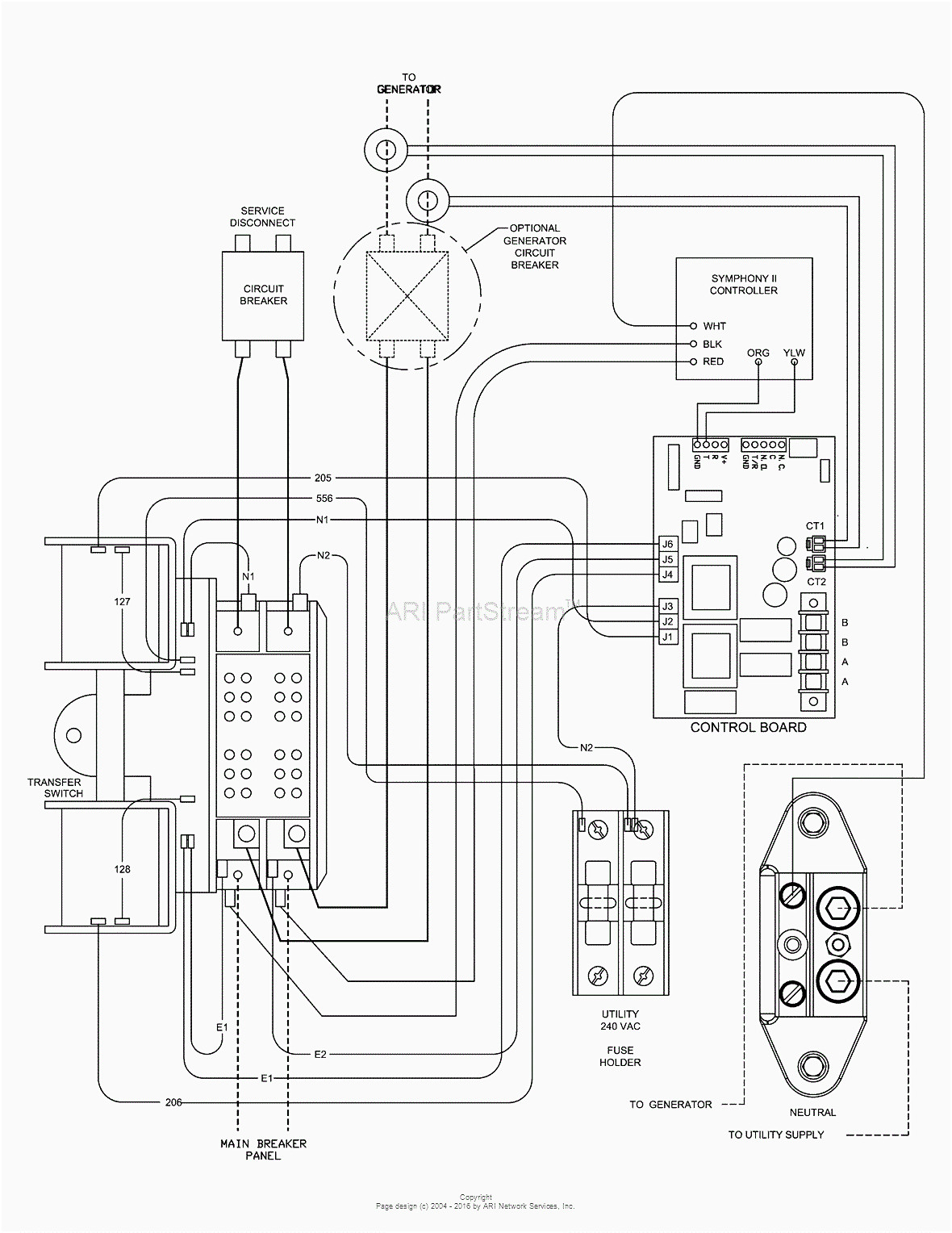 generac generator transfer switch wiring diagram Collection-Generator Automatic Transfer Switch Wiring Diagram Generac With Fancy Briggs And 16-h