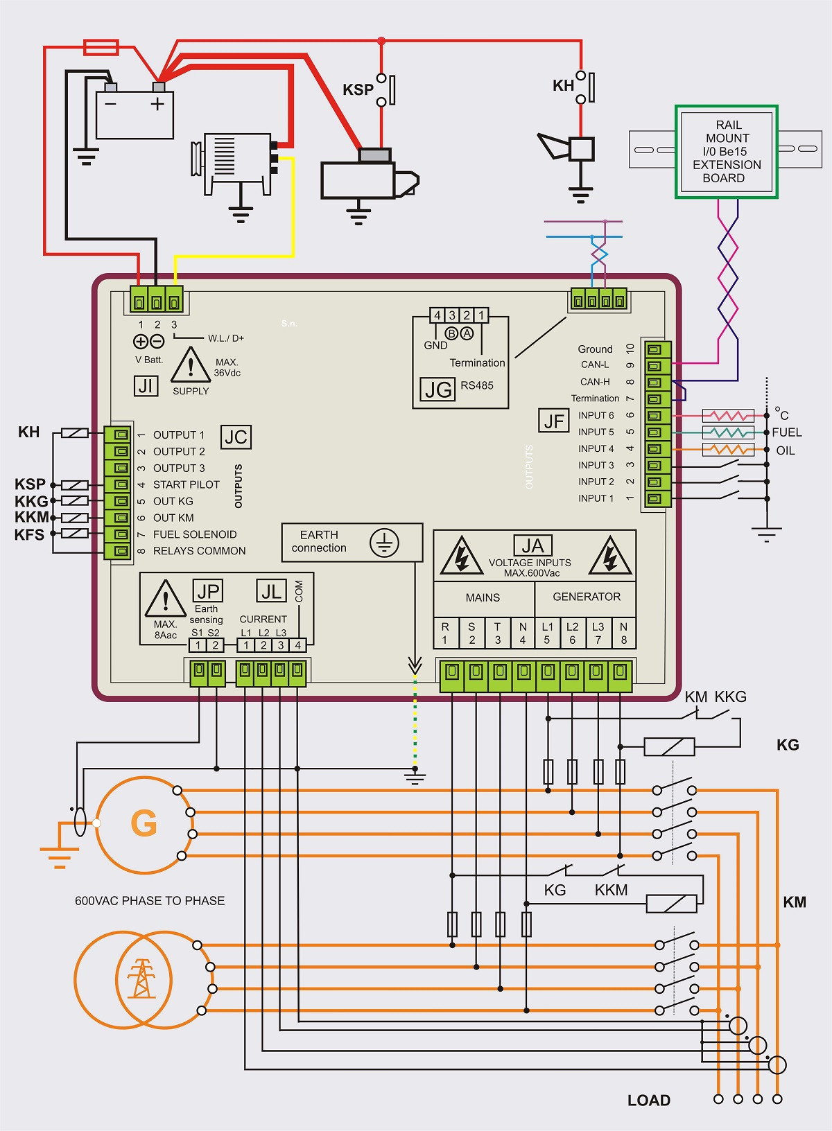 generac wiring diagram Collection-Generac 100 Amp Automatic Transfer Switch Wiring Diagram 16 15-b