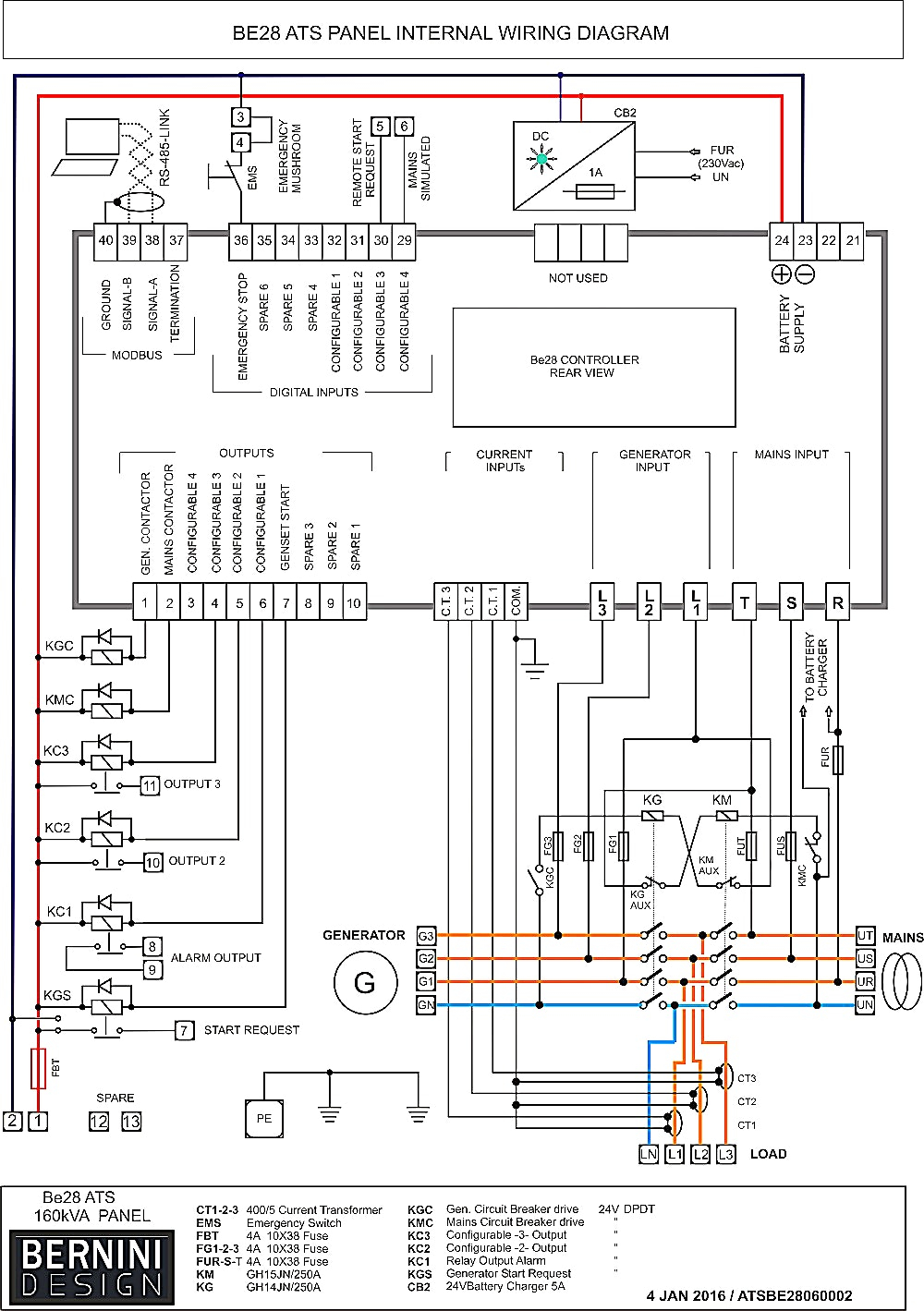 Generac Wiring Diagram - Generac Automatic Transfer Switch Wiring Diagram  Simple Design Between solargenerator and 13c