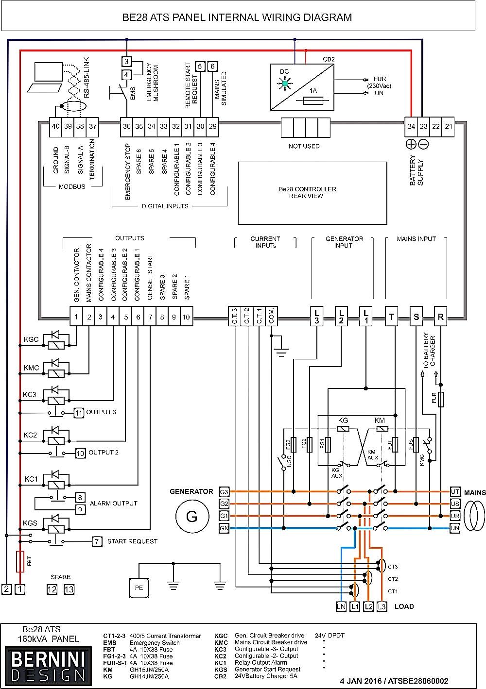 Generator Transfer Switch Wiring | Generator Transfer Switch Wiring Diagram Sample Wiring Diagram Sample
