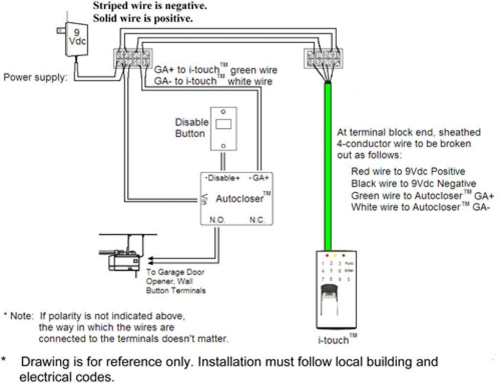 Wiring Diagram Pictures Detail: Name: genie garage door sensor wiring  diagram – Chamberlain Garage Door Sensor Wiring Diagram ...