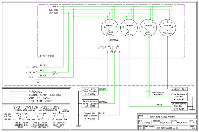 Glowshift       Boost    Gauge Wiring    Diagram    Sample   Wiring