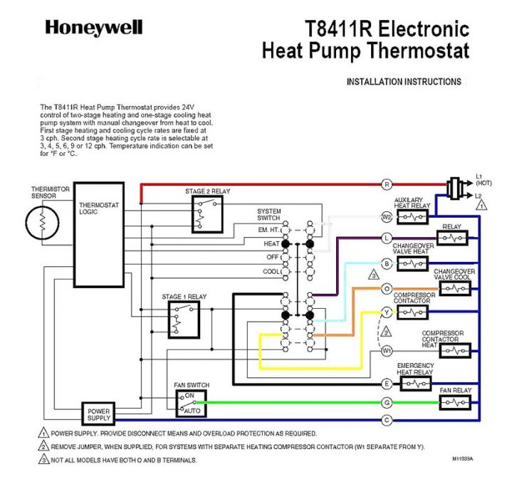 goodman ac unit wiring diagram Collection-Goodman Heat Pump Thermostat Wiring Diagram Heat Pump Wiring Diagram Schematic 2 Stage Thermostat Wiring Heat 5-m