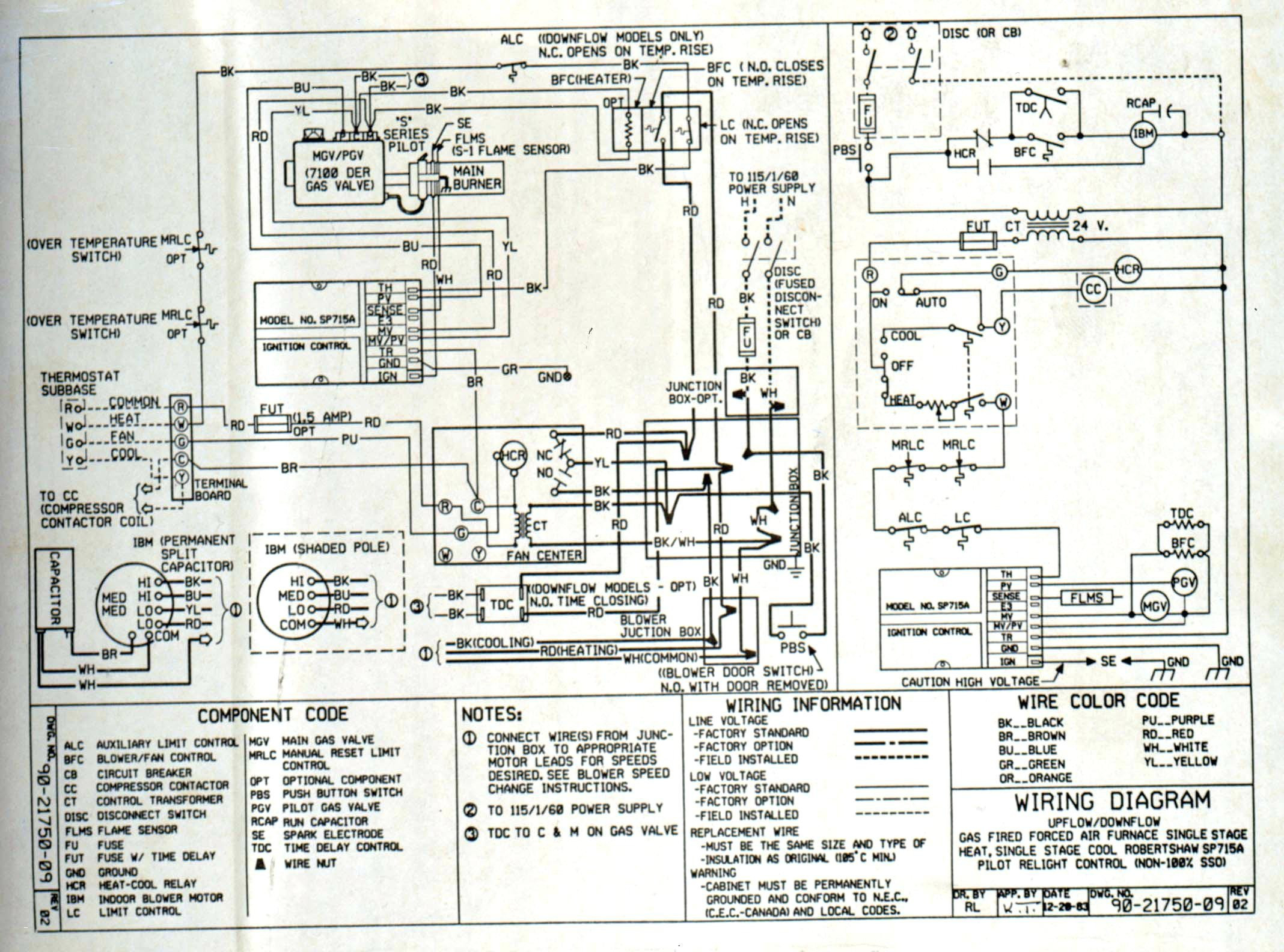 Goodman Ac Unit Wiring Diagram Download | Wiring Diagram Sample on