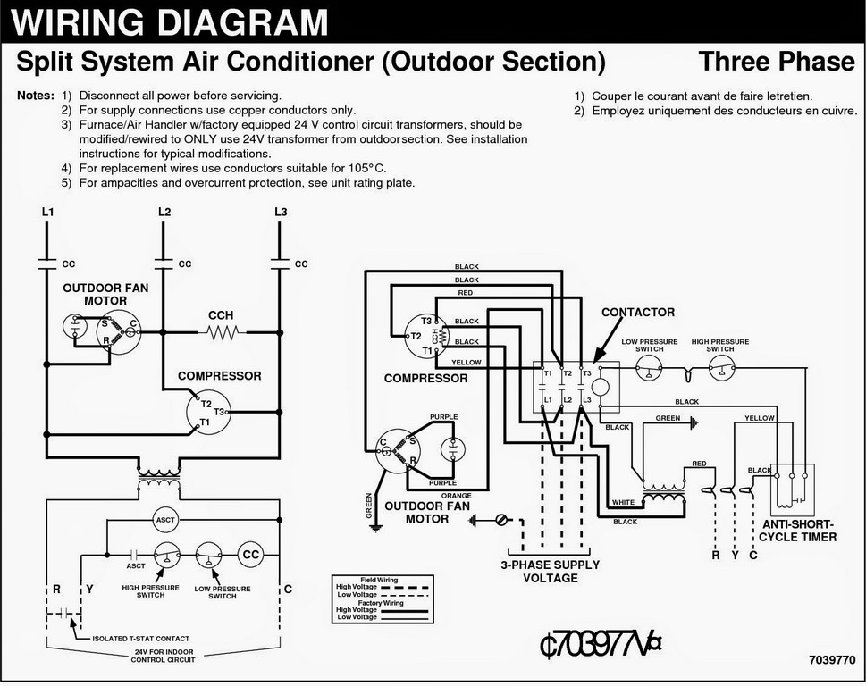 Goodman Ac Wiring Diagram Collection | Wiring Diagram Sample on