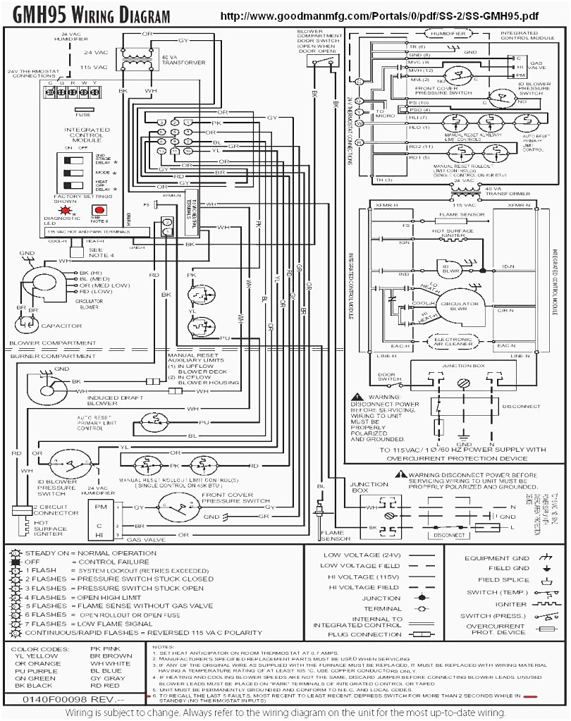 goodman ac wiring diagram Download-Goodman Furnace Wiring Diagram Webtor Me In At Goodman Furnace Wiring Diagram 17-h