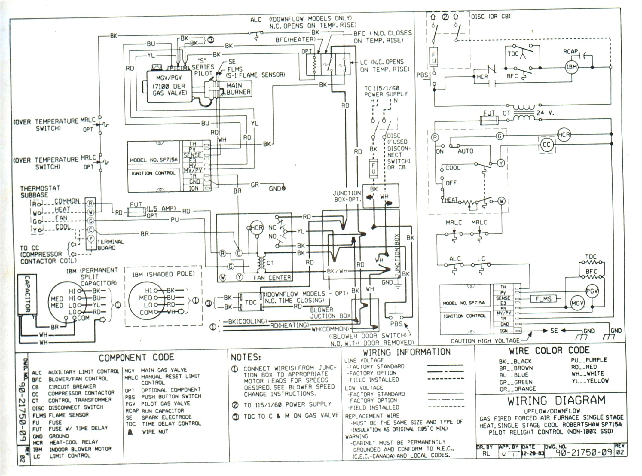 Goodman Electric Heater Wiring Diagram - Wiring Solutions
