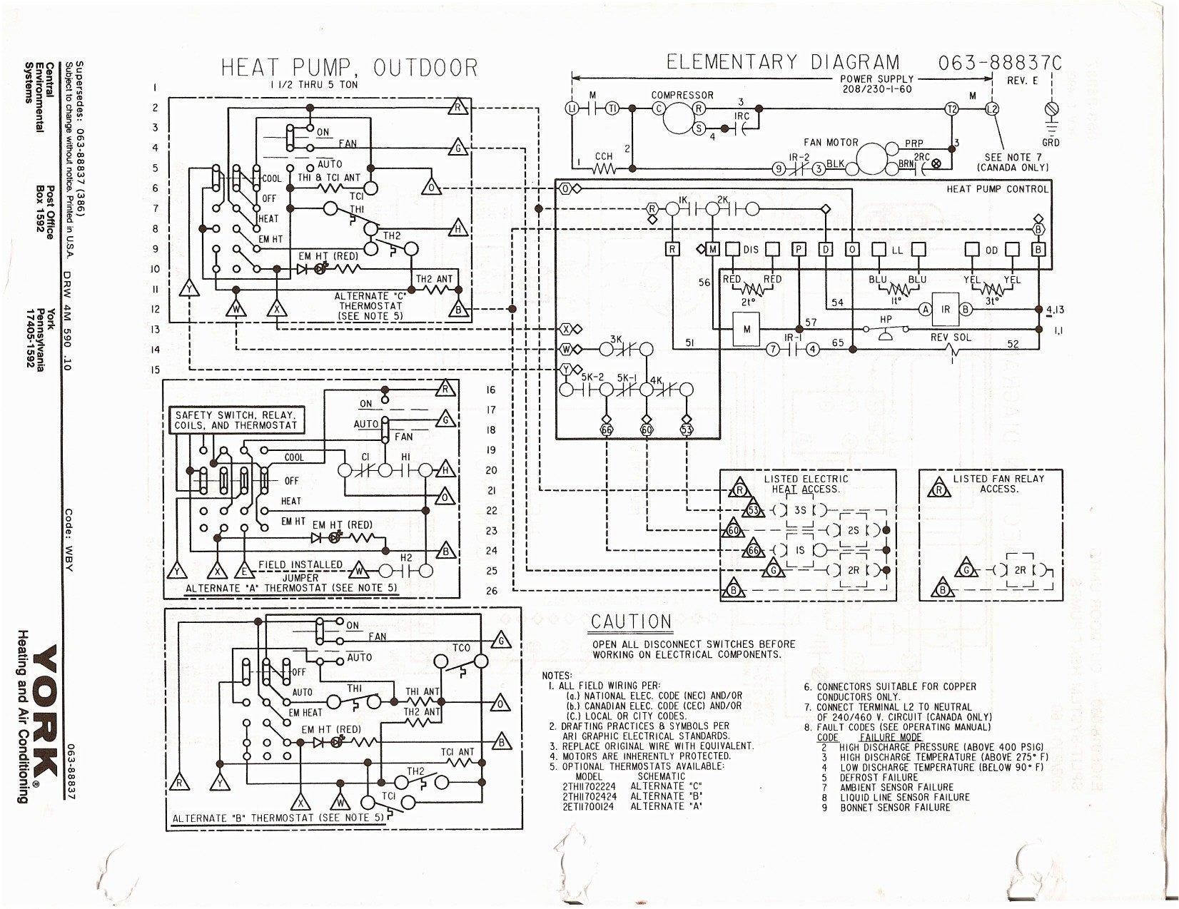 heat pump thermostat with emergency wiring diagram wiring solutions rh rausco com Nest Thermostat Heat Pump Wiring Diagram Basic Heat Pump Wiring Diagram