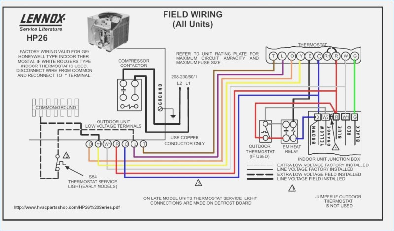 Lennox Electric Heat Wiring - custom project wiring diagram on
