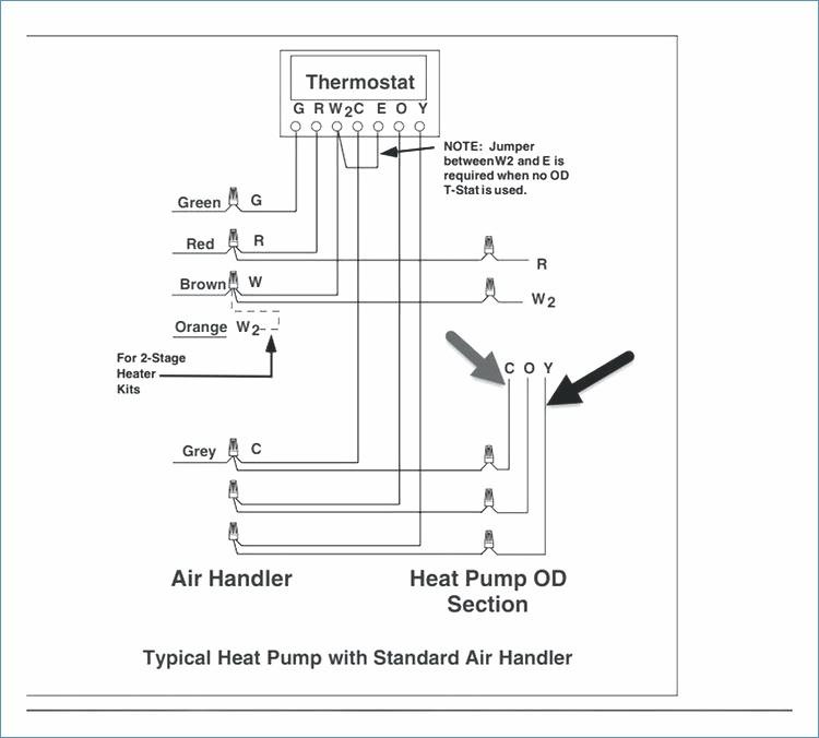 goodman heat pump low voltage wiring diagram Download-Heat Pump Low Voltage Wiring Diagram – Squished 1-n