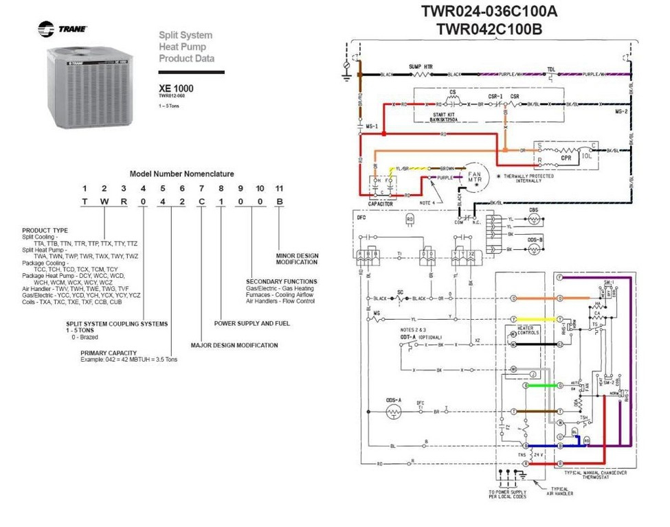 trane heat strip wiring diagram york heat strip wiring