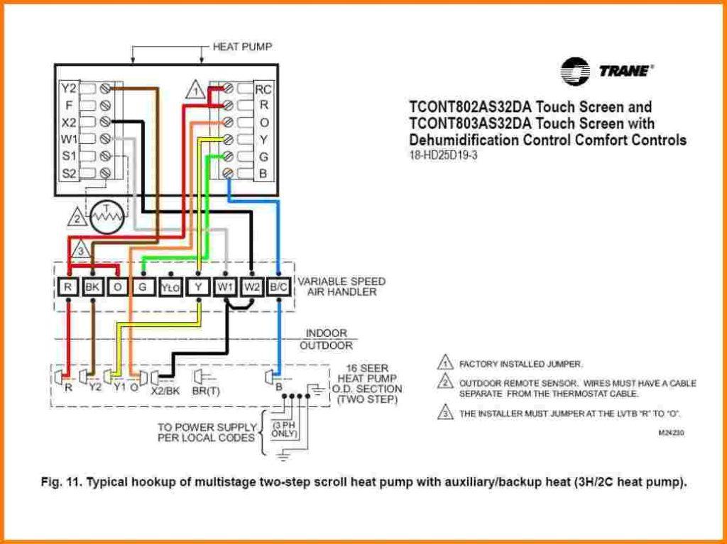 goodman heat pump wiring diagram thermostat Collection-Goodman Heat Pump Thermostat Wiring Diagram 8-t