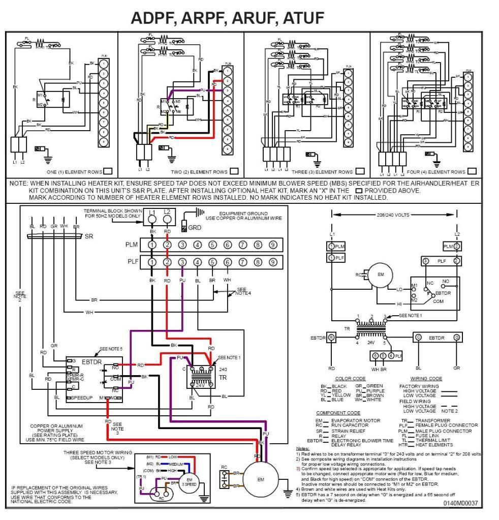 Goodman Package Unit Wiring Diagram Gallery