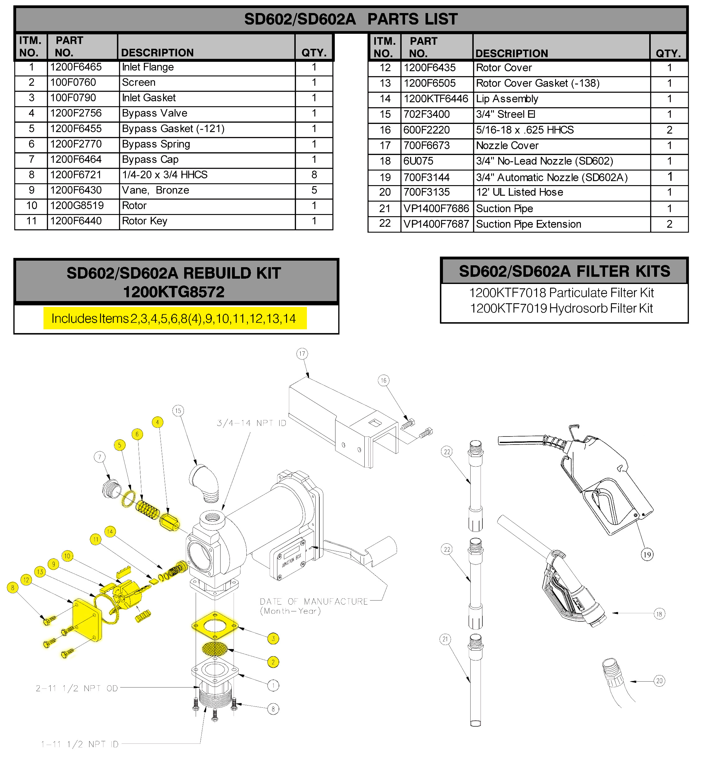 gpi fuel pump wiring diagram Collection-Fill Rite 1200ktg8572 Rebuild Kit Parts Diagram Fill Fuel Pump Wiring Diagram Full Size 8-l