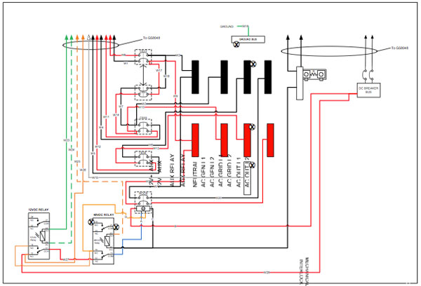 grid tie solar wiring diagram Download-Figure 7 Detail diagram of the Radian GSLC175 AC 120 240 GSLC 2-m