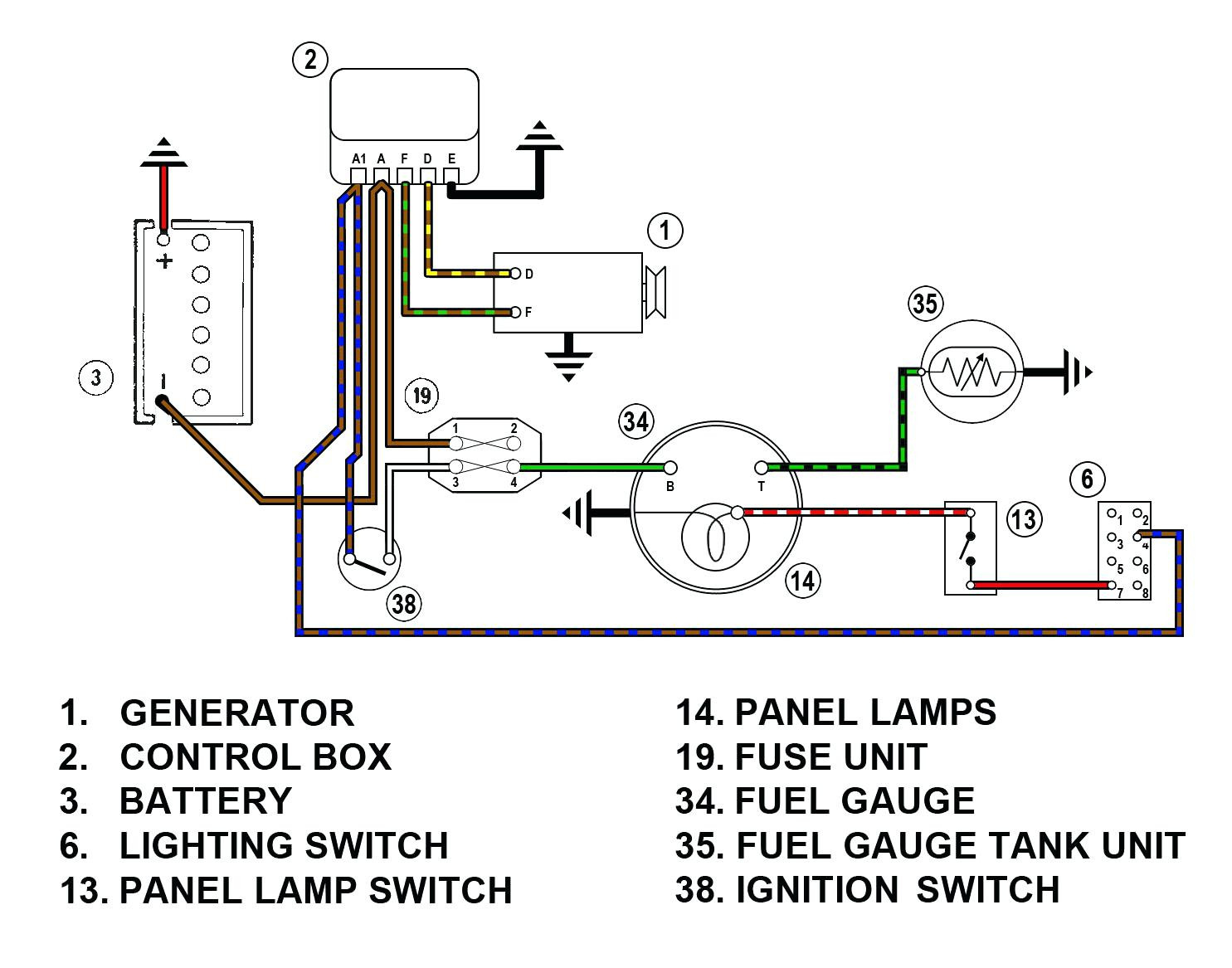 Vdo Gauges Wiring Diagrams