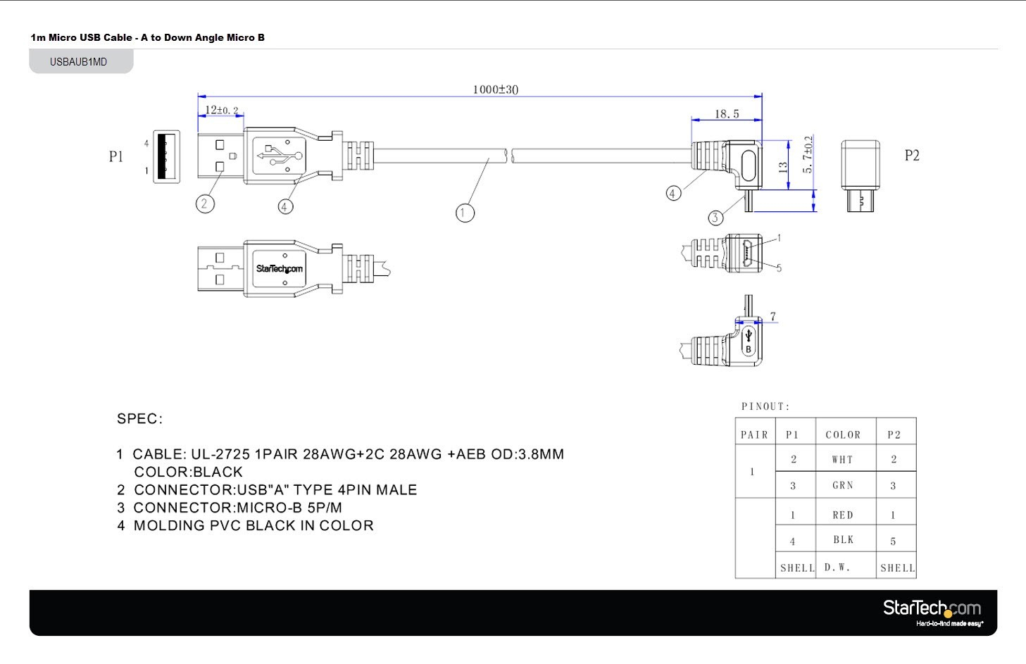 hdmi over cat5 wiring diagram Collection-Cable Wire Diagram Unique Micro Usb to Hdmi Wiring Diagram 7-s