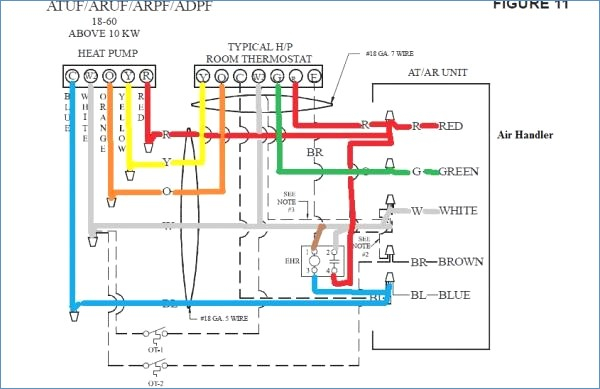heat pump thermostat wiring diagram Collection-Brown Wire Thermostat Rheem Furnace Wiring Diagram Goodman Heat Pump Thermostat Wiring Diagram Heat Pump Wiring Requirements 17-j