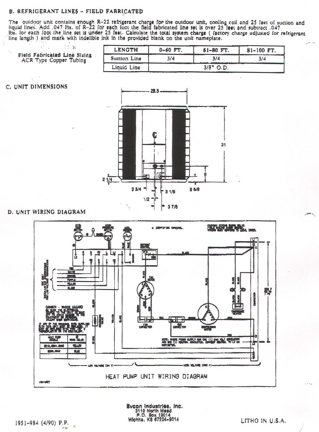 heat pump wiring diagram schematic Collection-York Heat Pump Wiring Diagram 15-q