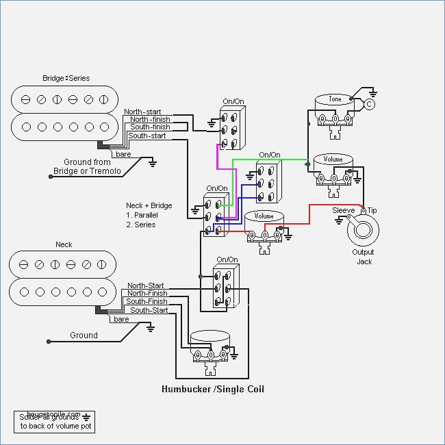 Blacktop Telecaster Wiring Mods - Wiring Diagrams on