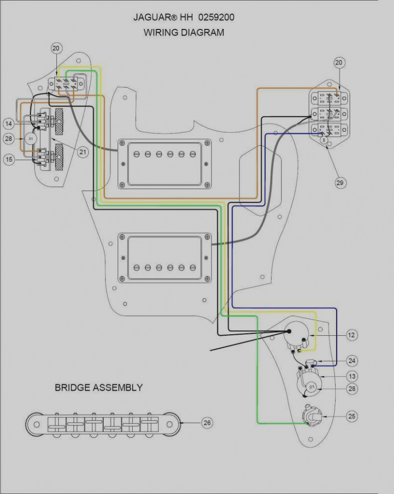 Kurt Cobain Jaguar Wiring Diagram - Wiring Diagrams List on