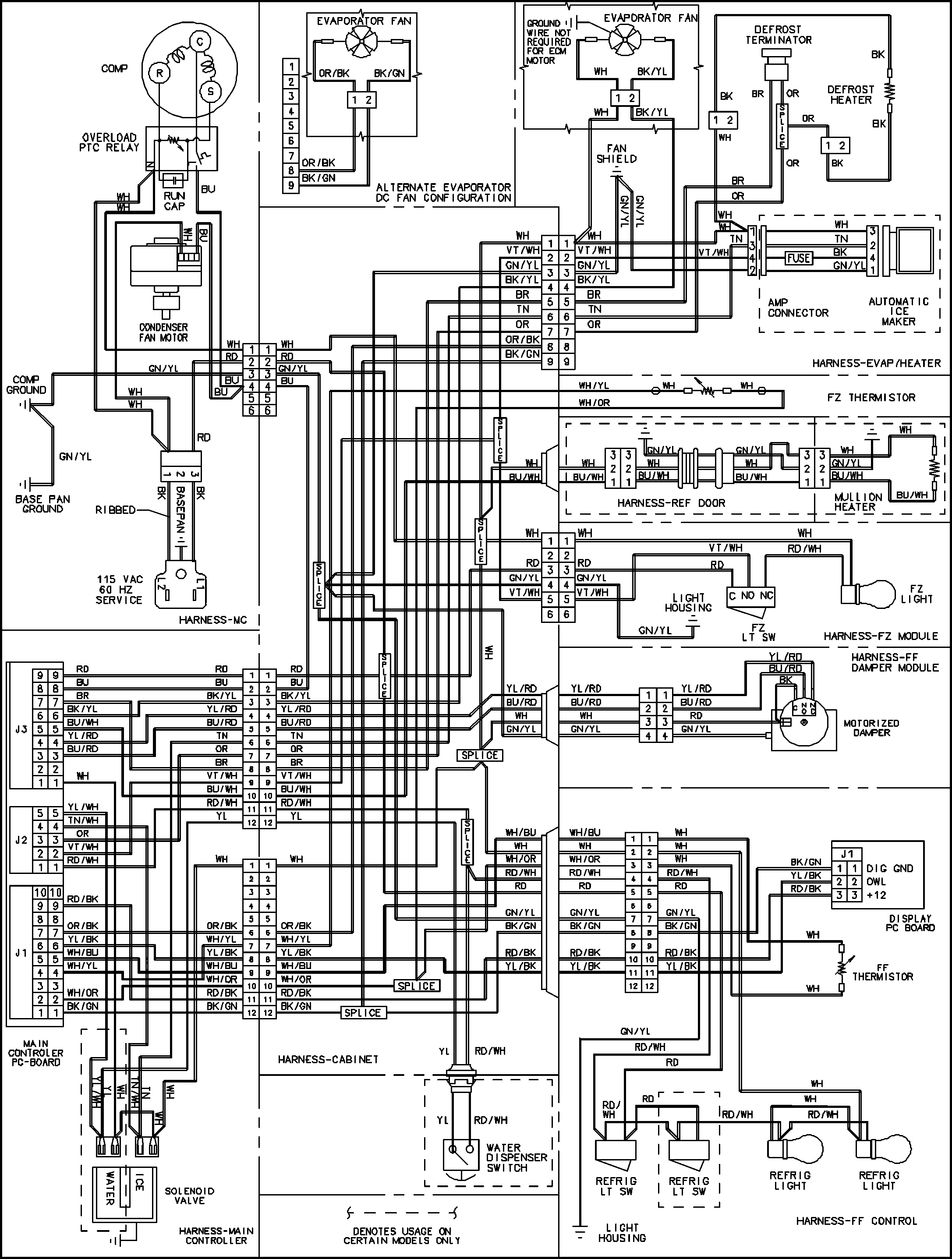 bohn walk in freezer wiring diagram walk in freezer wiring diagram