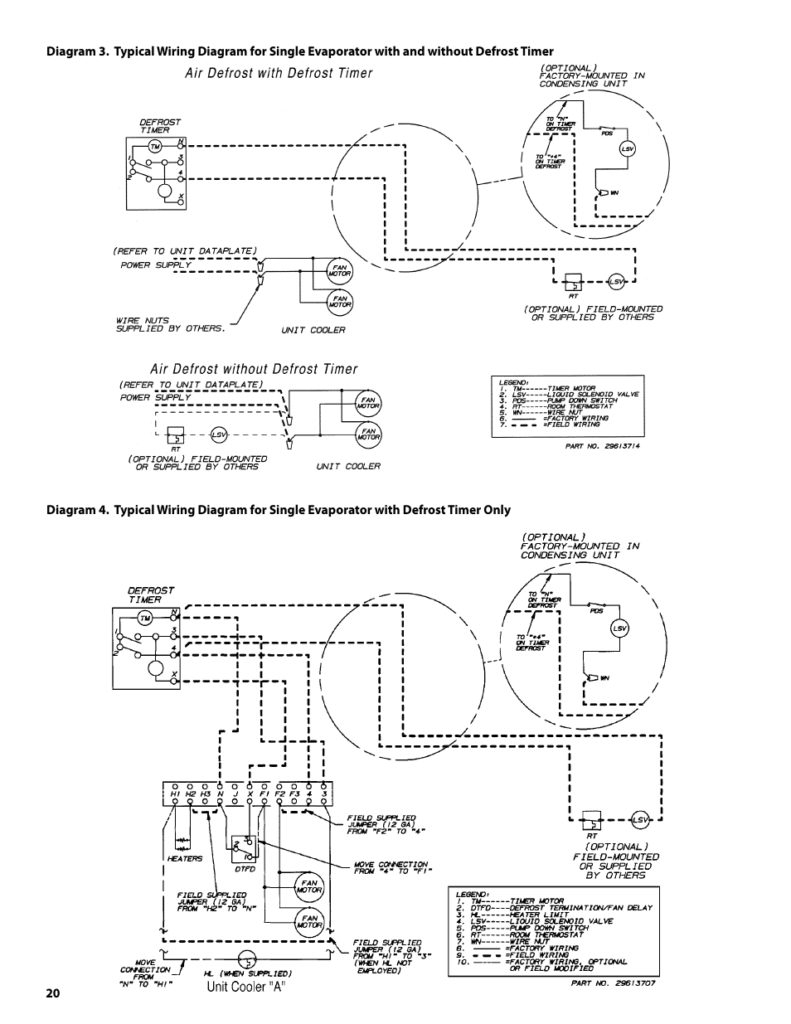 Heatcraft Walk In Freezer Wiring Diagram Download Refrigerator Compressor 230v 1 A