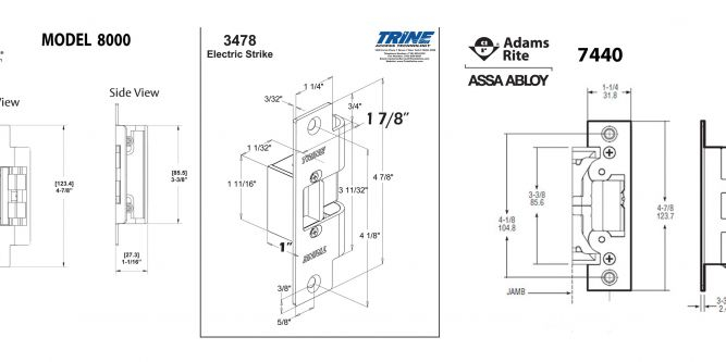 Hes 5000 Series Electric Strike Wiring Diagram - Hes 5000 Series Electric Strike Wiring Diagram 14h