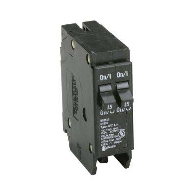 homeline breaker box wiring diagram Download-BR 2 15 Amp Single Pole Tandem Non CTL Circuit Breaker 2-n