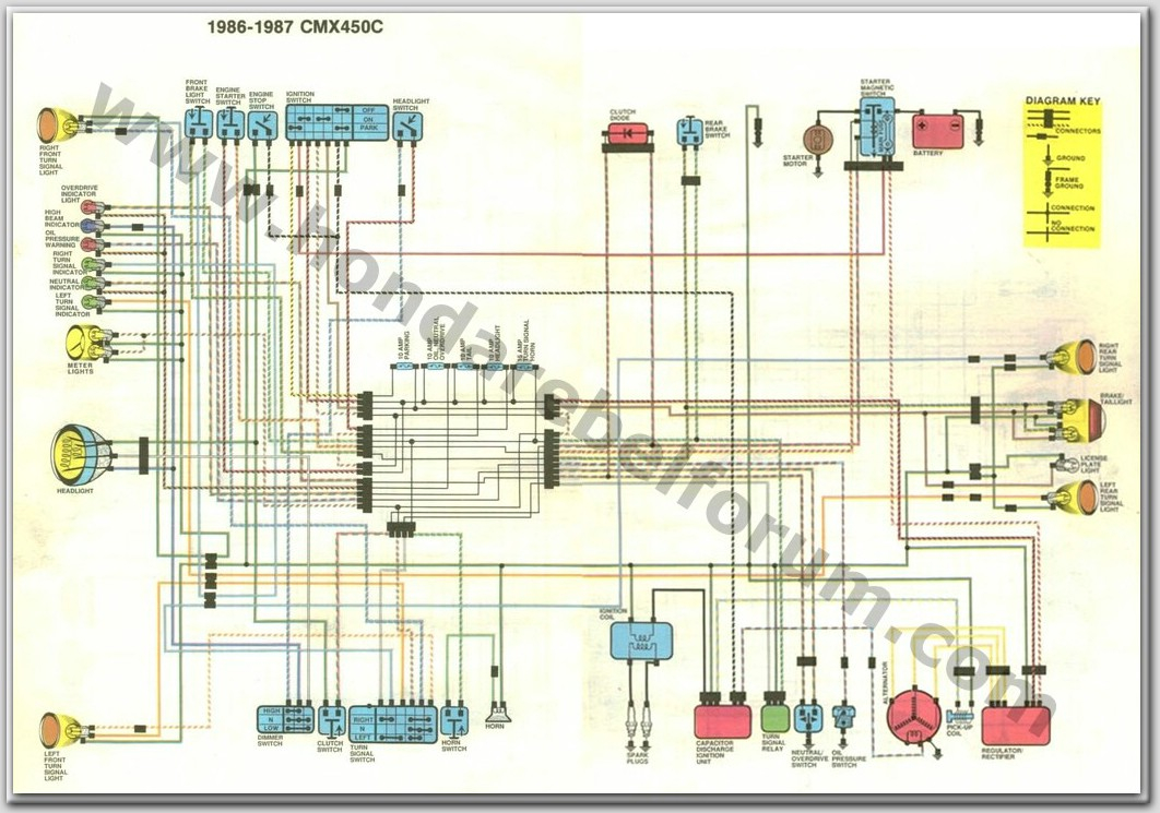 honda rebel 250 wiring diagram Download-Honda Wiring Diagrams Elegant Fantastic Honda St90 Motorcycle Wiring