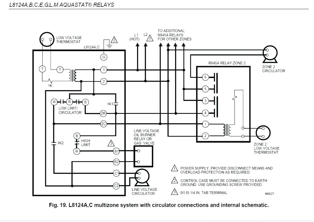 honeywell burner control wiring diagram gallery