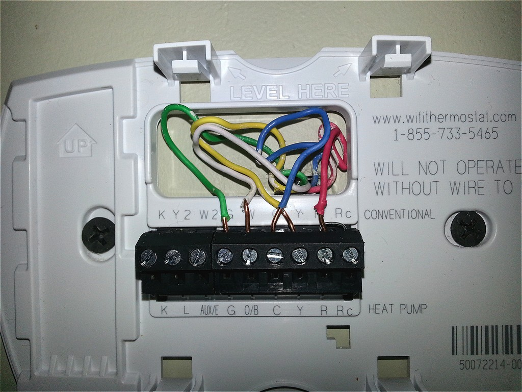 4 Wire Digital Thermostat Diagram - DIY Enthusiasts Wiring Diagrams •