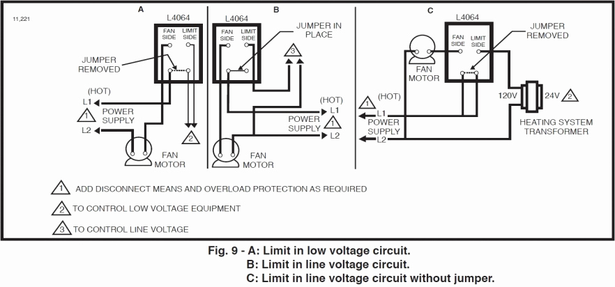 honeywell fan limit switch wiring diagram download