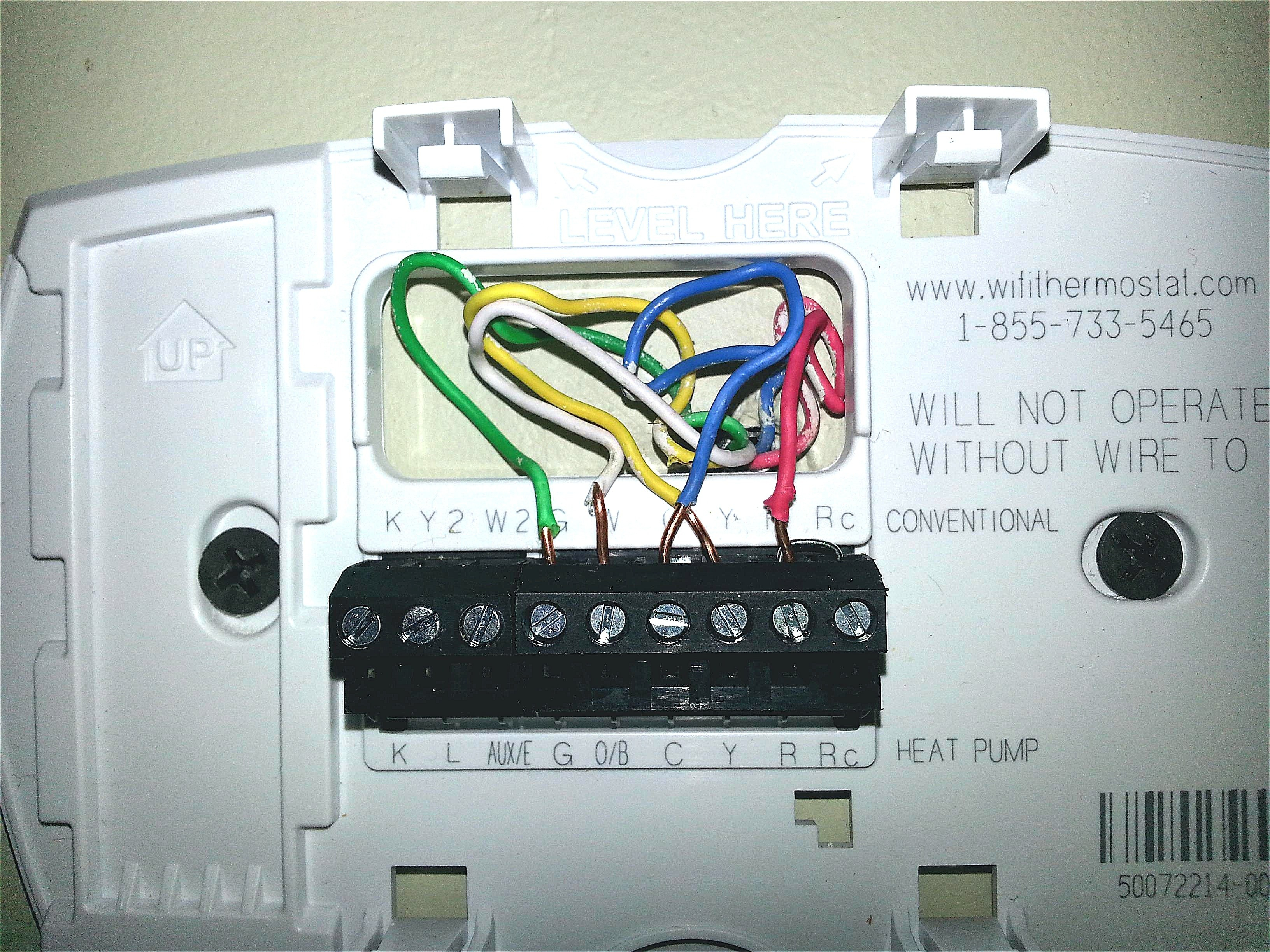 Honeywell Heat Pump Thermostat Wiring Diagram Sample Wire Download Wifi Marvelous