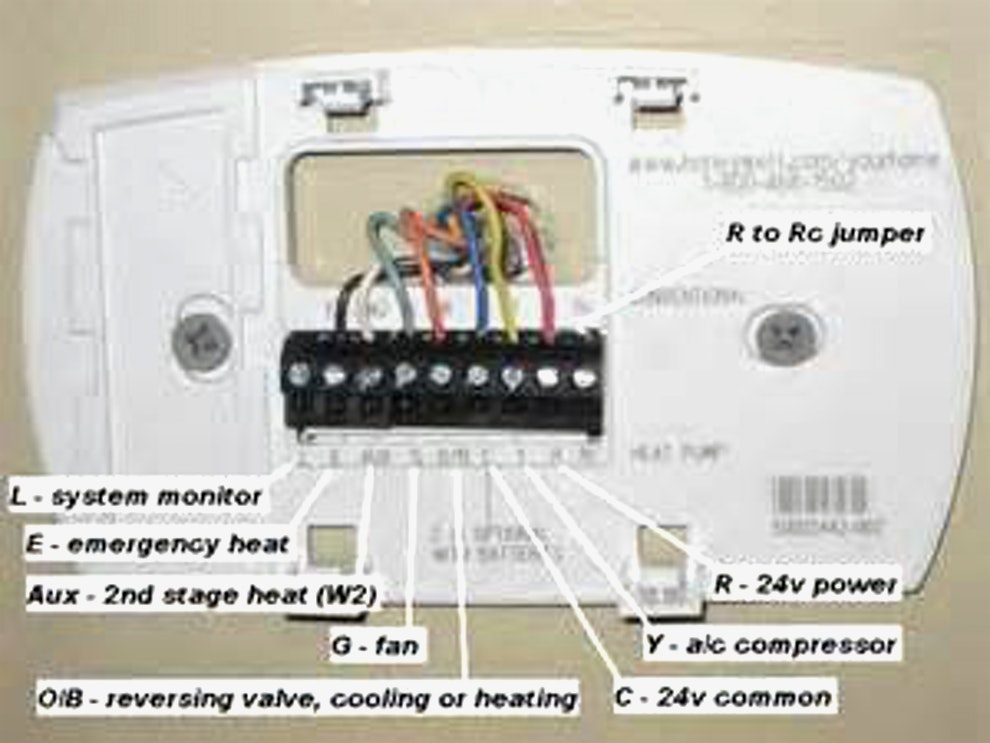 honeywell th5220d1003 wiring diagram Download-Install Honeywell thermostat 4 Wires Best Honeywell Control Panel Wiring Diagram Wiring Diagrams 5-h