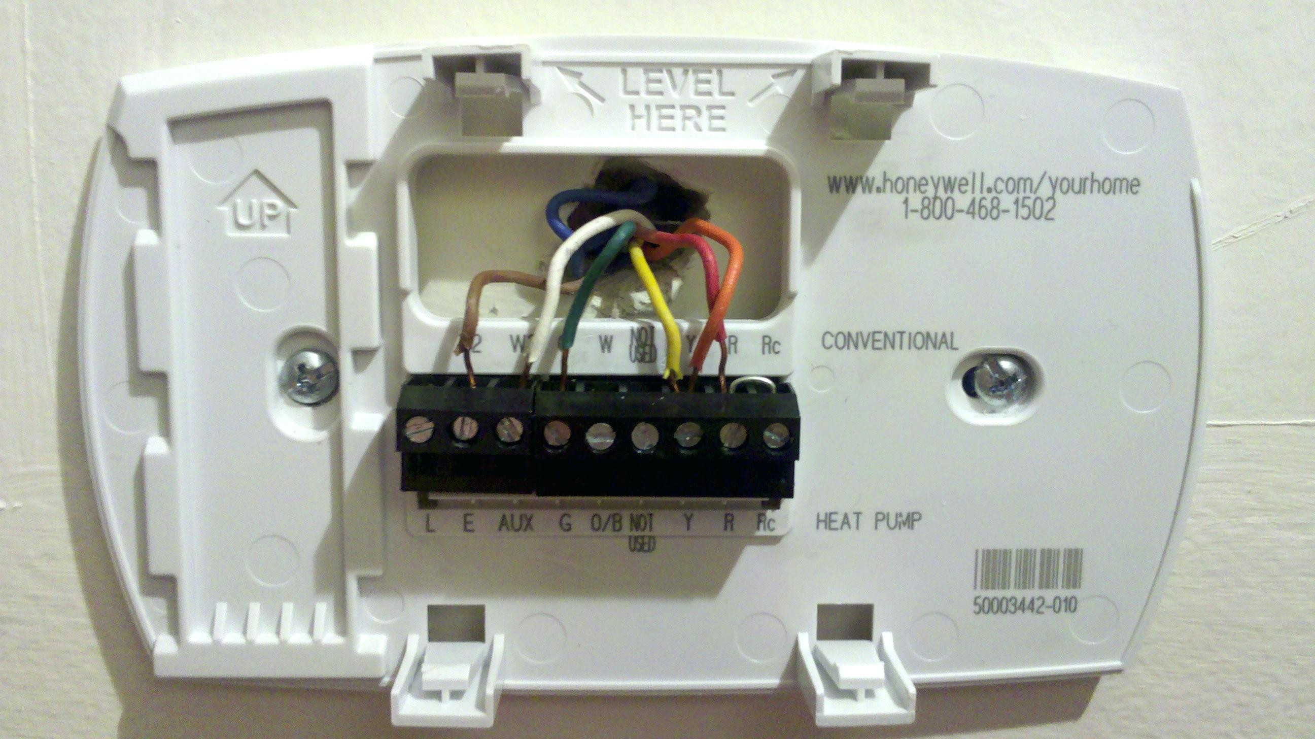 Honeywell Thermostat Th3110d1008 Wiring Diagram Collection