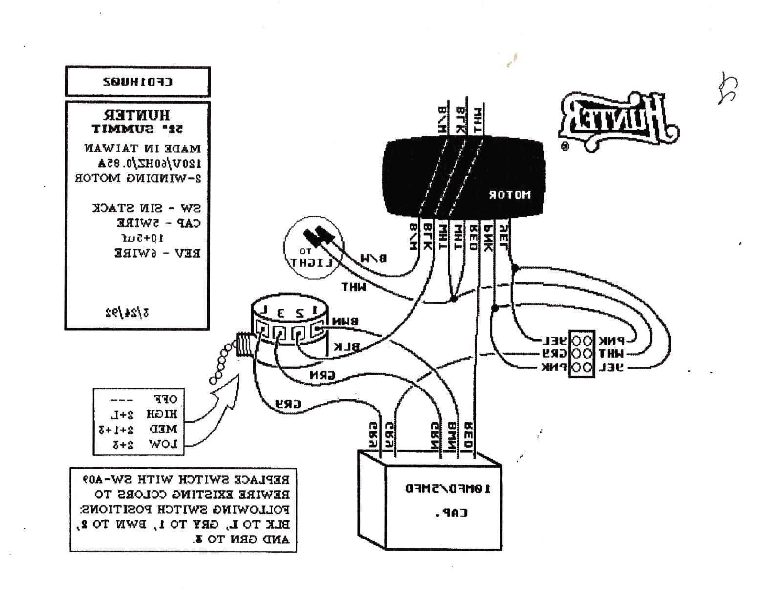 hunter ceiling fan 3 way switch wiring diagram sample