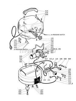 husky air compressor wiring diagram Download-250 HUSKY H1506FWH parts 4-n