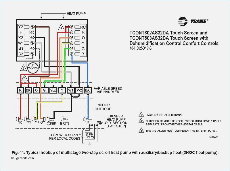 Hvac Thermostat Wiring Diagram Collection
