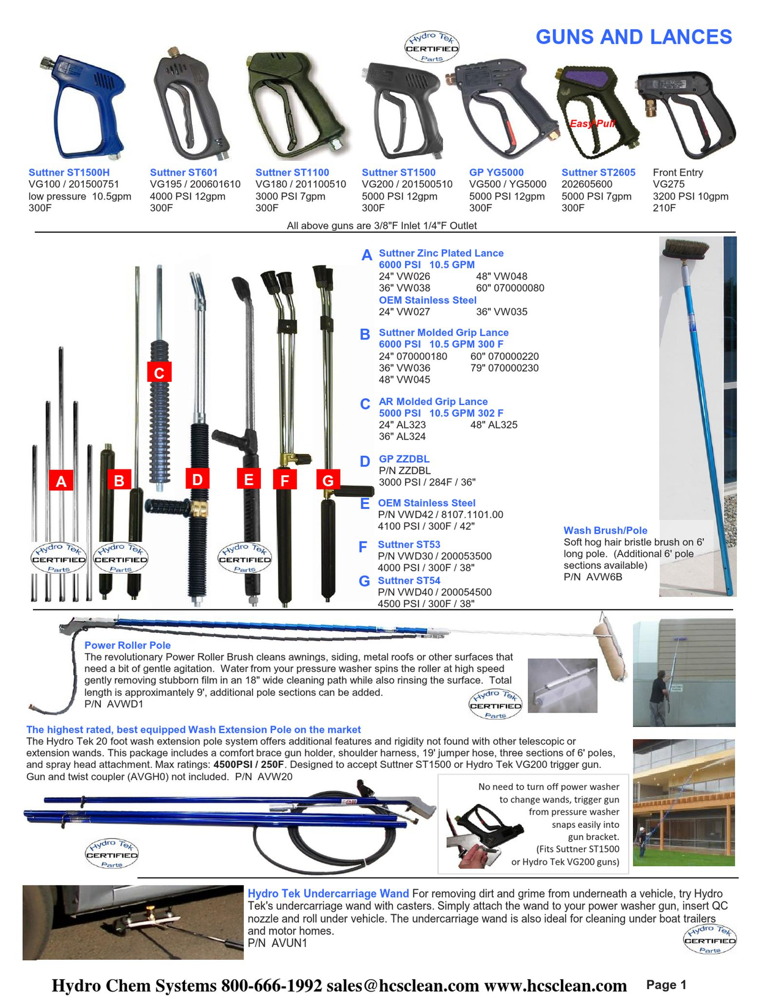 hydrotek pressure washer wiring diagram Collection-Hydro Tek Systems Parts & Accessories Price Book 2013 2014 2-h