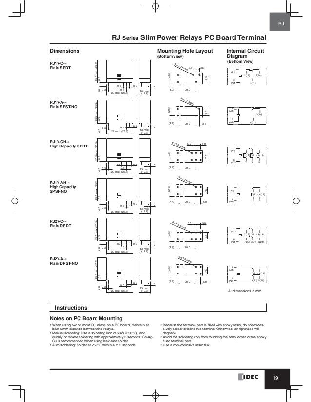 Idec Relays Diagram | Wiring Diagram on